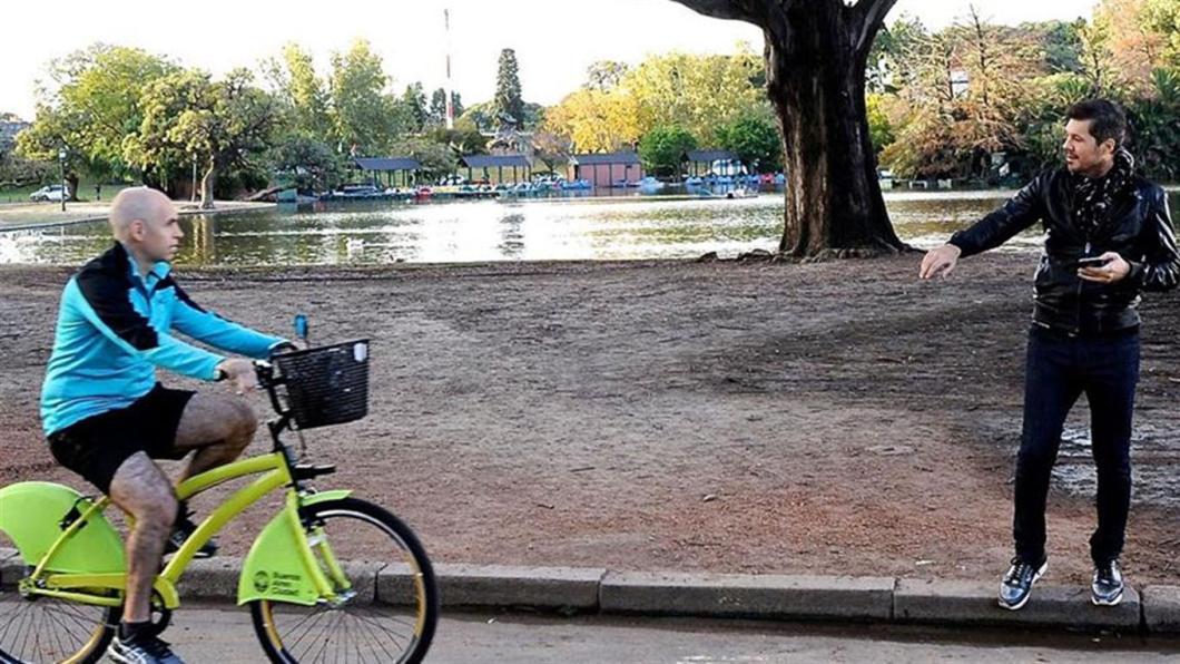 larreta en bici