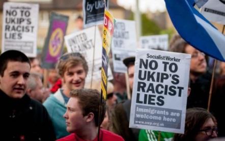 Ukip rally in Edinburgh